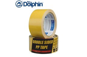DOUBLE SIDED PP BLUE DOLPHIN TAPES 50mmx10m